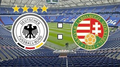 Fußball Länderspiel Deutschland - Ungarn 4.06.16 komplette Spiel