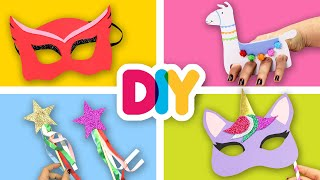 4 Lovely GIRL Crafts you can do with them | Fast-n-Easy | DIY Arts & Crafts for Kids