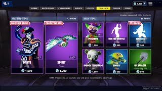 NEW GLOW IN THE DARK SKIN IN FORTNITE ITEM SHOP
