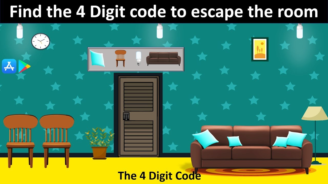 Escape Game The 4 Digit Code Escape Rooms Game Download Now Youtube