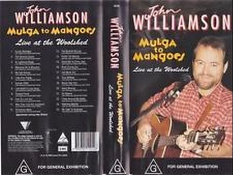 John Williamson Live At The Woolshed (1994)
