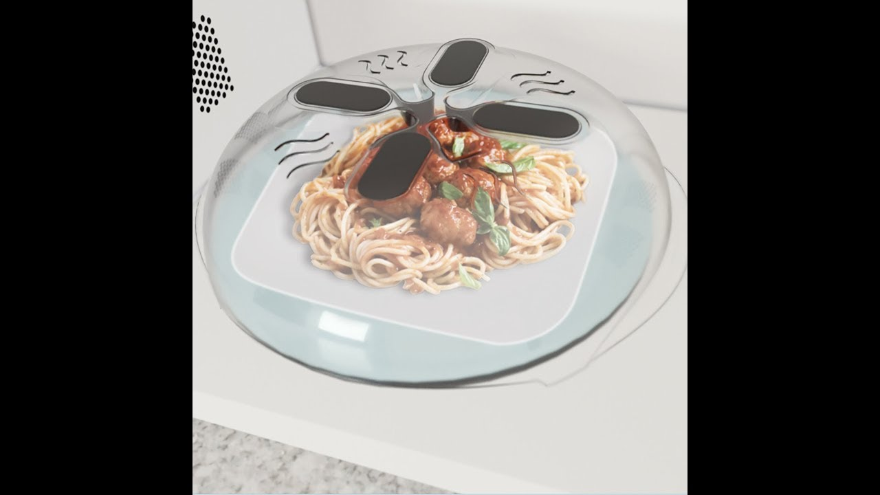 Review Hover Cover - Magnetic Microwave Splatter Lid with Steam Vents & Review: Hover Cover - Magnetic Microwave Splatter Lid with Steam ...