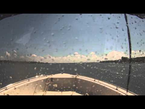 Sebastian Inlet approach from offshore.  Scary on a good day