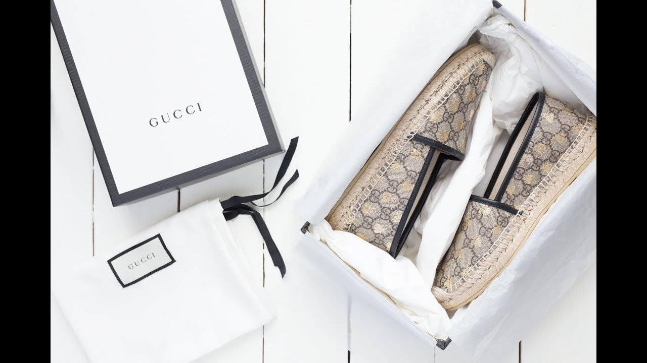 eed75ad99ea Gucci unboxing