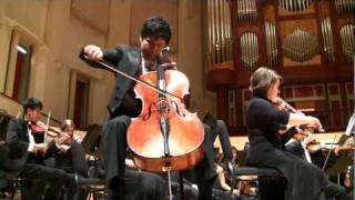 Cello Concerto by Elgar - Played by Sam Lee and the Emory Youth Symphony Orchestra