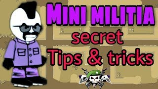 Doodle army 2 ( mini militia ) | All tips and tricks to win | by Aniket khipal