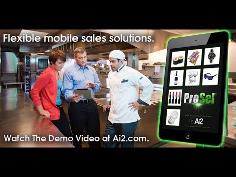 iPad Sales App | Mobile SFA Order Management | ProSel from Ai2