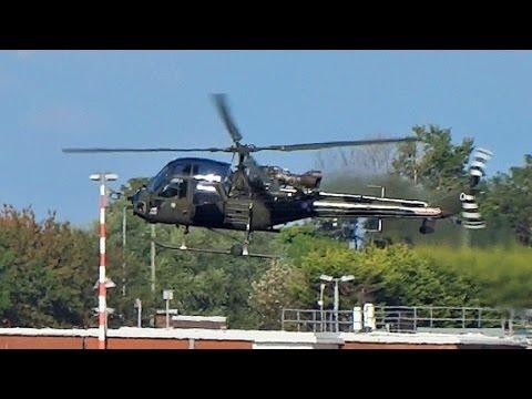 Westland Scout AH Mk1 - XT626 (G-CIBW) coming into land@Warton Aerodrome