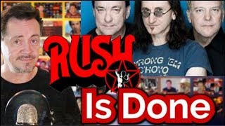Alex Lifeson Says Rush Is Done for Good – Fans Share Memories