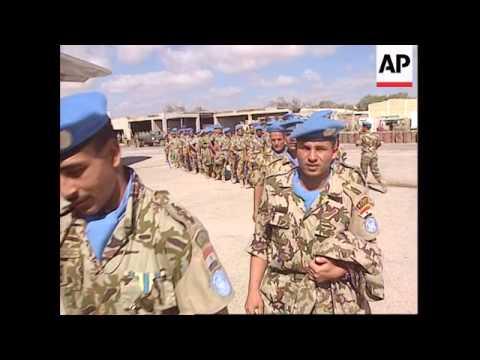 Somalia - UN Egyptians Soldiers Leave Mogadishu