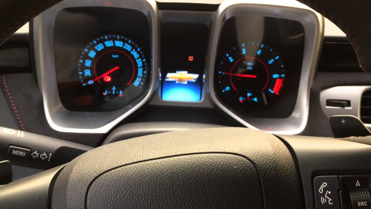 Por dentro del Chevrolet Camaro Zl1 convertible - YouTube