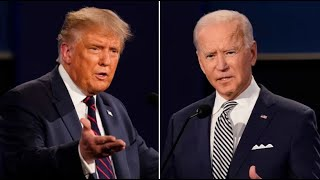 Live: Donald Trump and Joe Biden face off in final presidential debate for US Election┃ITV News