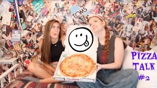 Pizza Talk // Ep. #2: Confidence, Time Management, Jealousy & MORE! Thumbnail