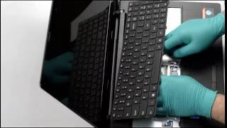 Výmena Klávesnice na Notebooku Lenovo G50 Laptop Keyboard Installation Replacement