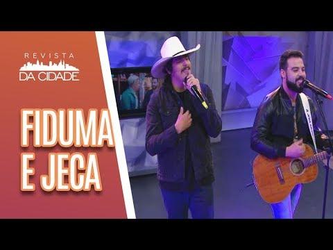 Música e Bate-Papo com  Fiduma e Jeca - Revista da Cidade (12/07/18)
