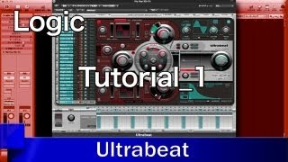 Logic Pro 9 Ultrabeat レッスン① キット/サンプルの読み込みと保存 _ 使い方 / Tutorial(Sleepfreaks DTMスクール)