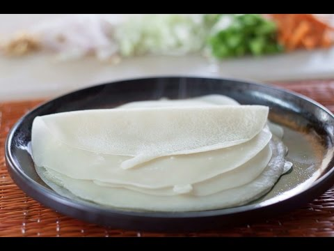 How To Make Spring Rolls Wrappers Or Sheets (quick And Easy Way)