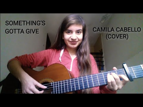 Camila Cabello - Something's Gotta Give | COVER By Talia