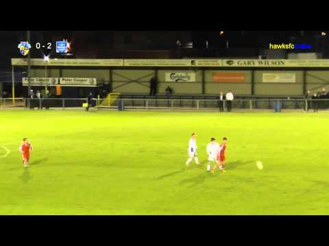 Havant & Waterlooville Academy v Sparsholt College (Hampshire Junior Floodlit Final)