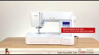 видео Швейная машина Janome Skyline S3