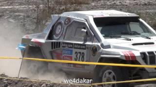 NR 378 Sergey Savenko, Denis Maltsev, GAZ Dakar Rally 2014