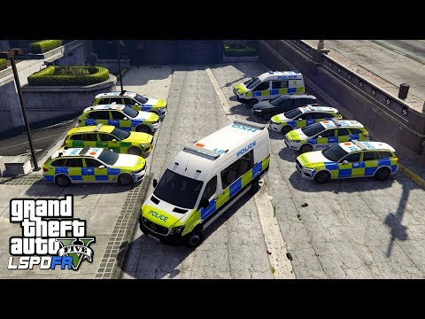 NEW UK POLICE IN GTA 5!! | GTA 5 PC LSPDFR | THE BRITISH WAY #144