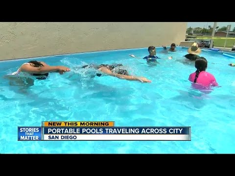 Portable pool may be coming to a San Diego neighborhood near you