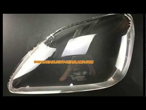 Honda CR V Headlight Plastic lens Cover Lenses Yellowish  Replacement