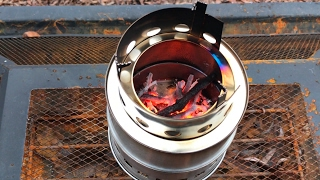 Compact Kit for Backpacking Yeesn Stainless Steel Wood Burning Camping Stove Picnic BBQ Hiking Camping Survival Emergency
