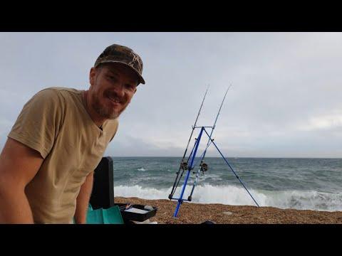 Chesil Beach Shore Fishing - West Bexington - Dorset - South Coast Of England - Will Bailey Fishing