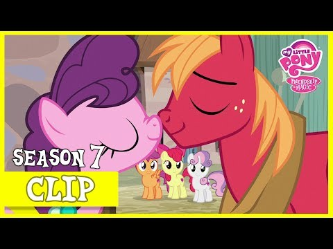 Big Mac Wins Sugar Belle's Heart (Hard to Say Anything) | MLP: FiM [HD]