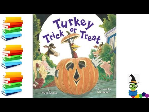Turkey Trick or Treat - Halloween Kids Books Read Aloud