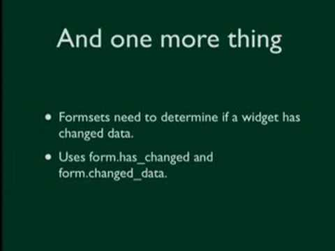 Image from DjangoCon 2008: What's New in Newforms-Admin?