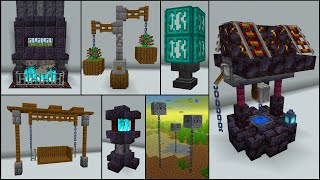 Minecraft: 50+ Nether Update Build Hacks and Ideas
