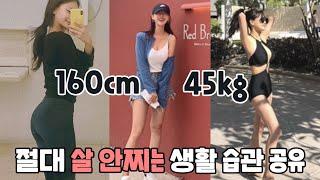 (Subs) 160cm 45kg 15년째 유지중인 생활…