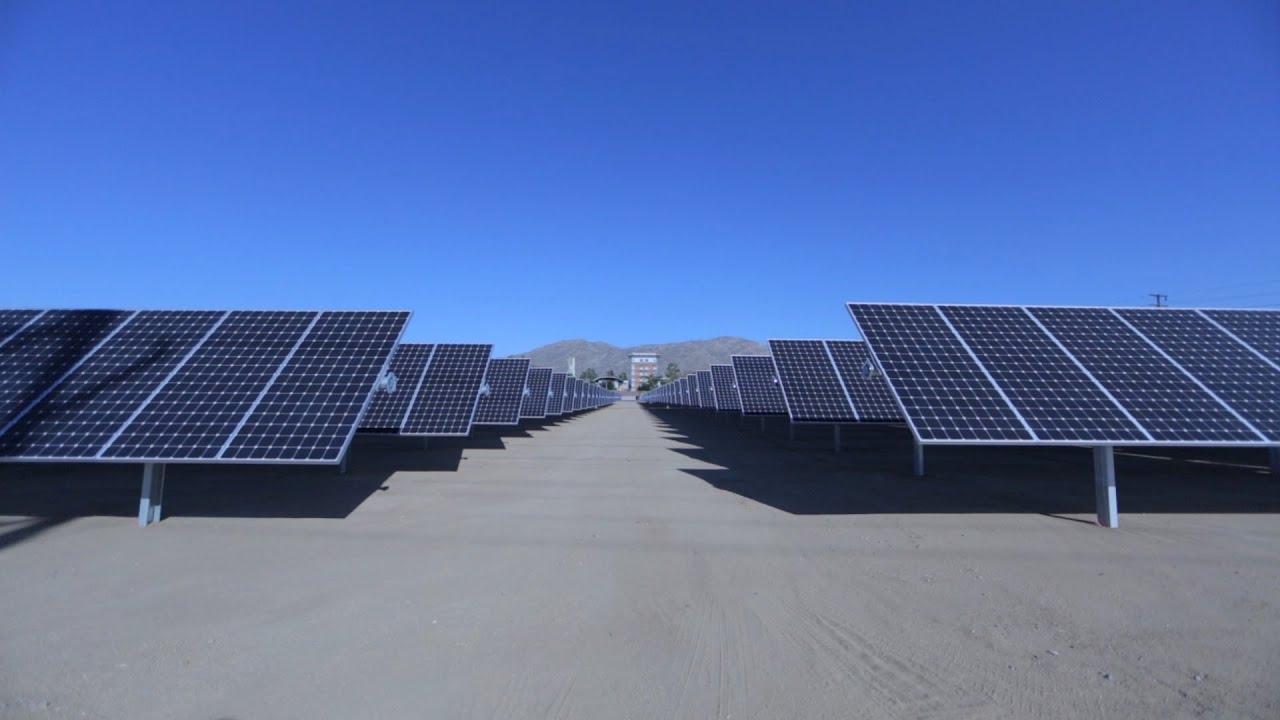 Building Uc Riverside S Solar Farm Youtube