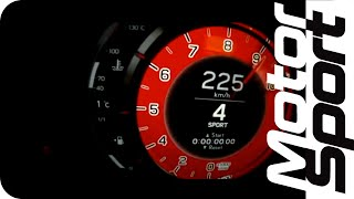 0 à 260 km/h en Lexus LFA V10 4 805 cm3 560 ch 1 480 kg 325 km/h 37...