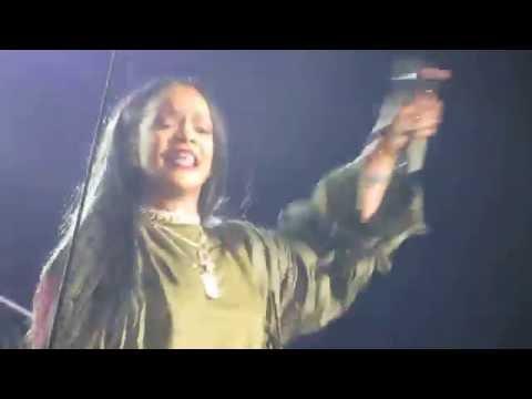 Rihanna - Woo & Sex With Me - Budweiser Made In America Festival 2016 - Philadelphia, PA