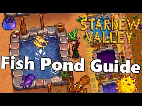 fish pond reproduce stardew