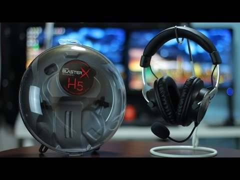 Creative H5 Review - Finally A Gaming Headset That DOESN'T Suck!