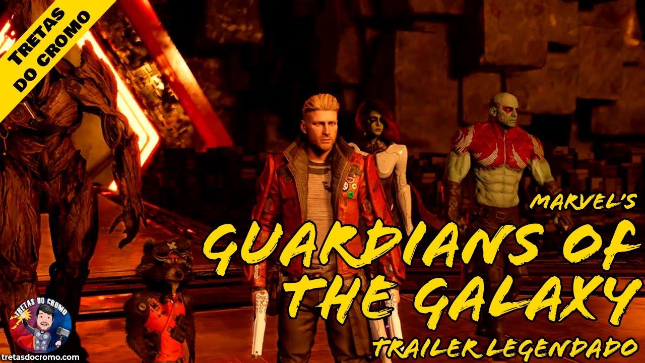 Novo trailer para o jogo de Guardiões da Galáxia