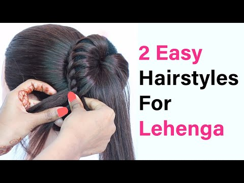 easy-bun-hairstyle-for-girls-||-wedding-&-function-bun-hairstyles-||-simple-bun-hairstyles