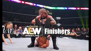 AEW Finishers of 2019