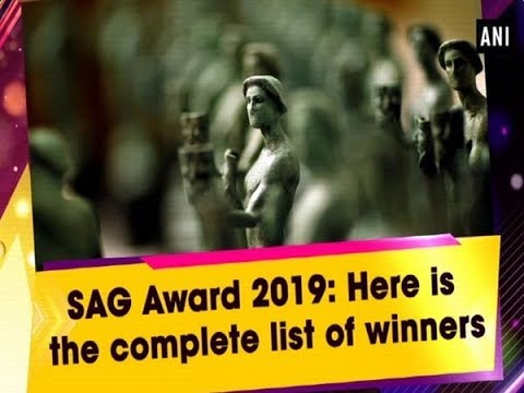 SAG Awards 2019: The winners' list