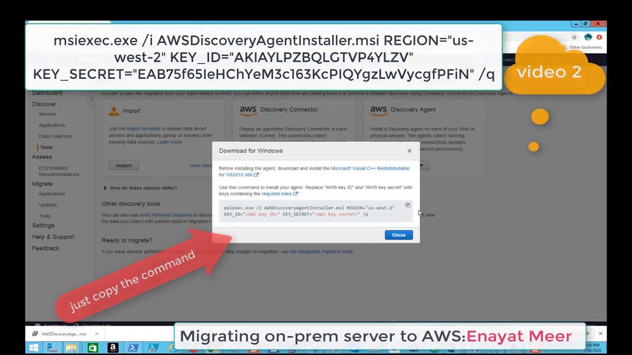 On-Prem VM  to AWS Server Migration Part 2