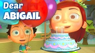 happy birthday song to abigail