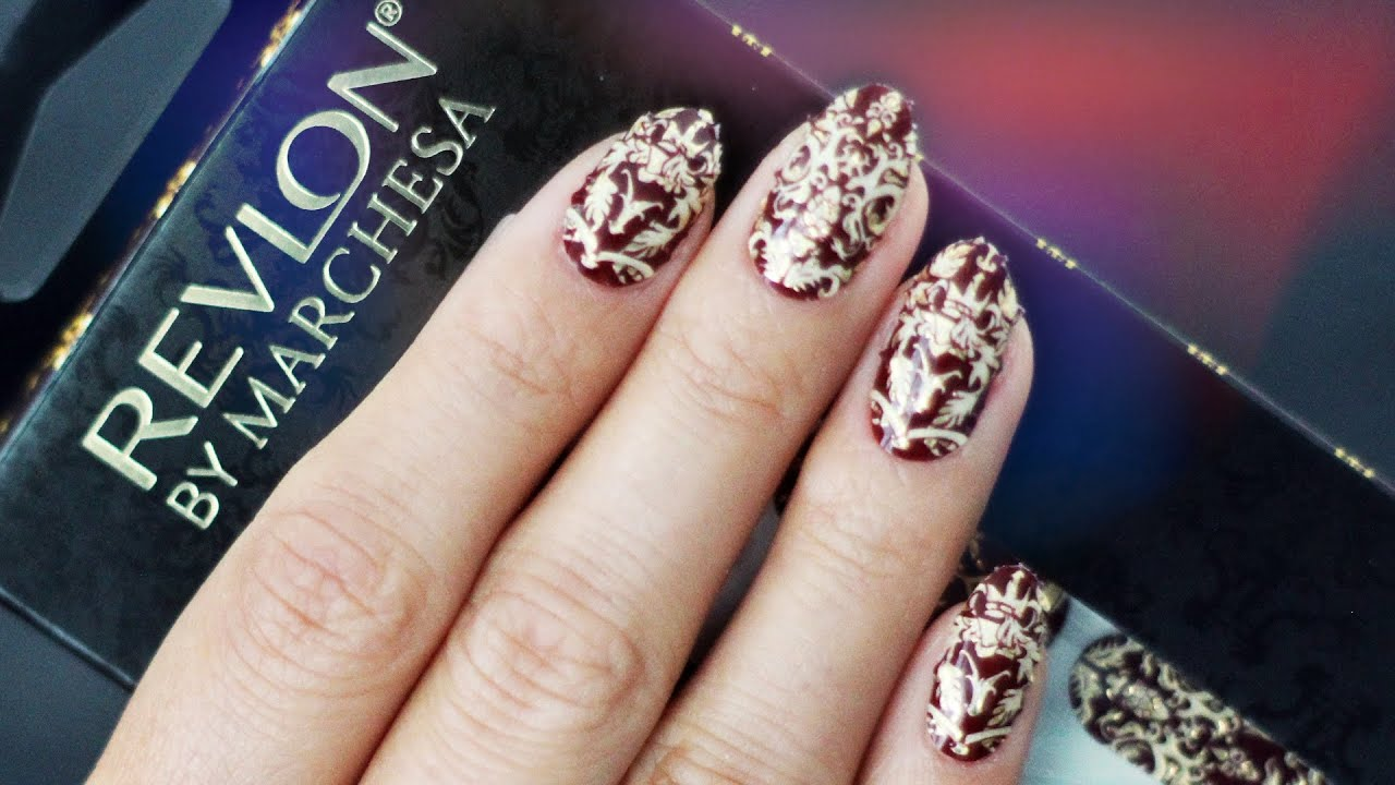How to Apply Nail Appliqués | ft Revlon by Marchesa - YouTube