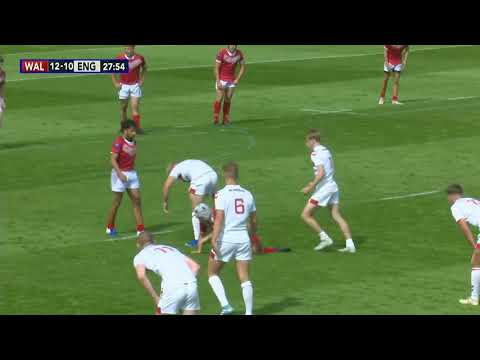 Highlights | Wales Youth 16 38 England Youth