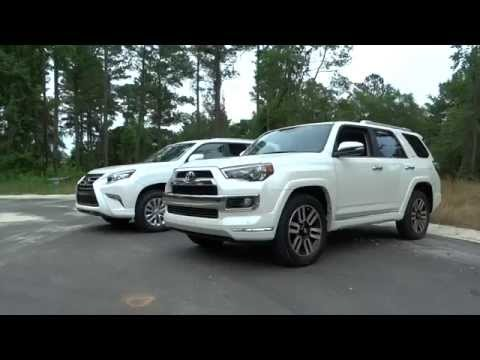 What's Different? 2015 Lexus GX vs Toyota 4Runner Limited - YouTube