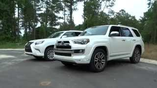 What's Different? 2015 Lexus GX vs Toyota 4Runner Limited